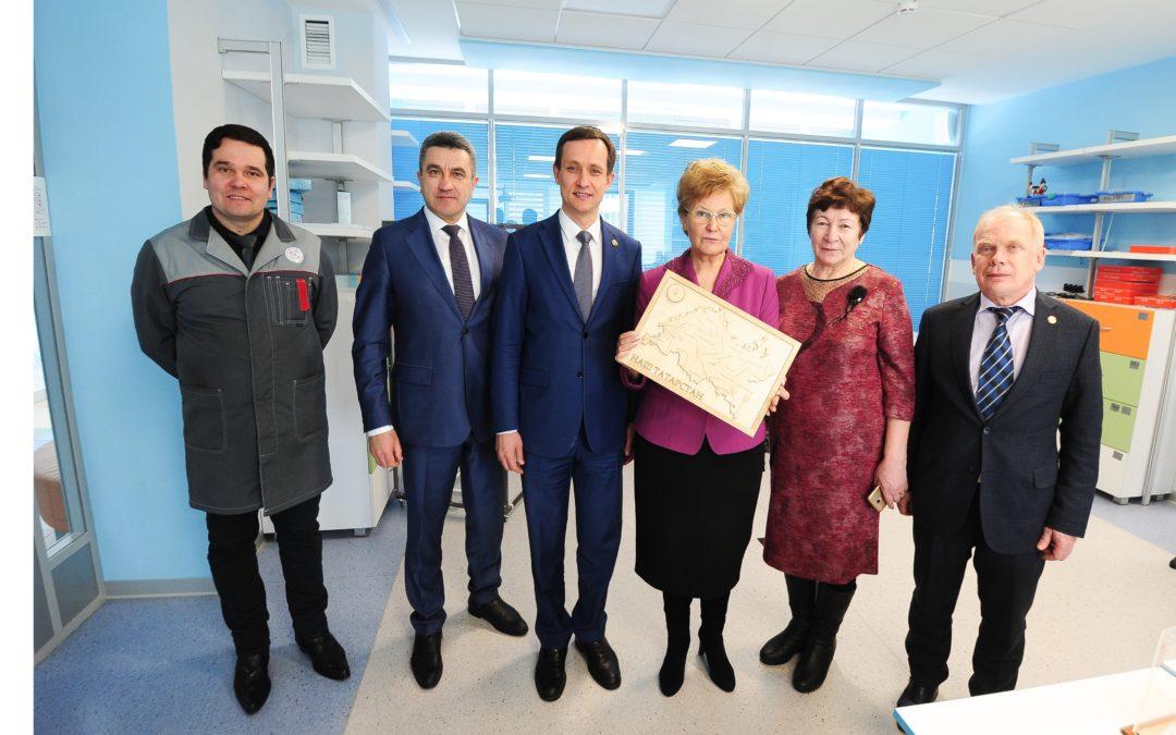 Детский технопарк «Кванториум»-Дом пионеров посетили почётные гости из Казани.