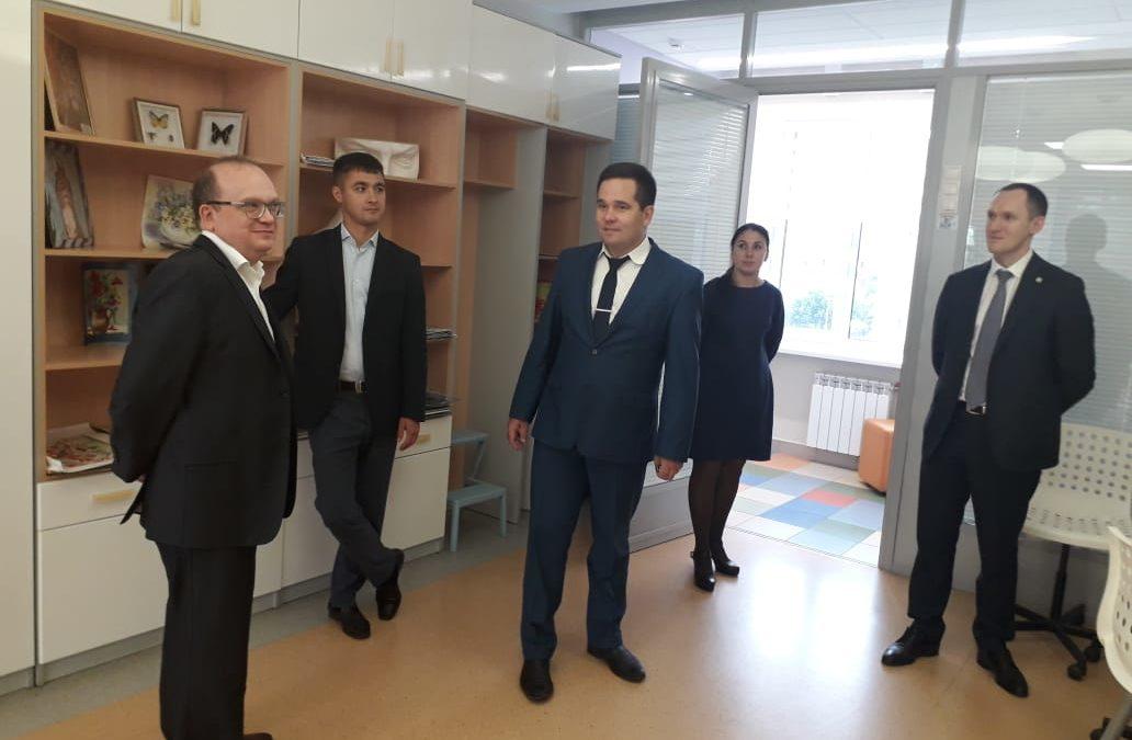 Делегация ПАО «Таттелеком» в Детском технопарке «Кванториум» Альметьевск.