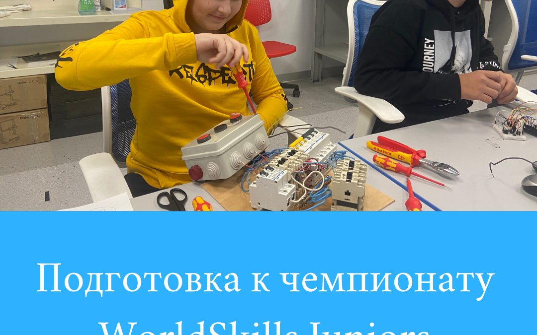 Подготовка к WorldSkills Juniors